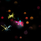 Loop-able Colorful Sparkler Background And Assets V9 - VideoHive Item for Sale
