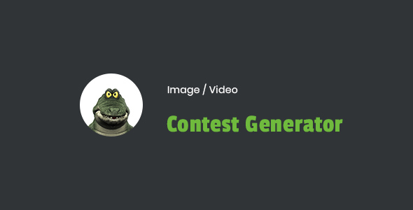 CodeCanyon Image Video Contest Generator Wordpress Plugin 21276588