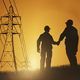 Architect And Construction Worker Shaking Hands Over Sunset Sky - VideoHive Item for Sale