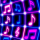 Flashing Music Notes - VideoHive Item for Sale