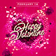 Happy Valentine Flyer Template 2 - GraphicRiver Item for Sale