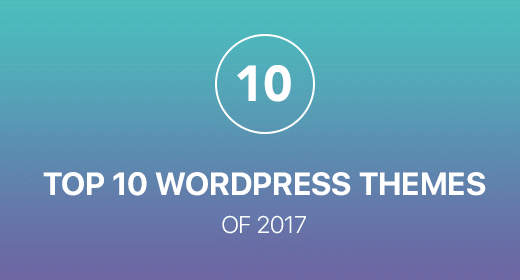 Top 10 Best Wordpress theme 2017
