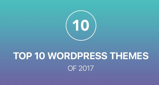 Top 10 Best Wordpress theme 2017