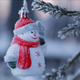 Decorated Christmas Tree Outside - VideoHive Item for Sale