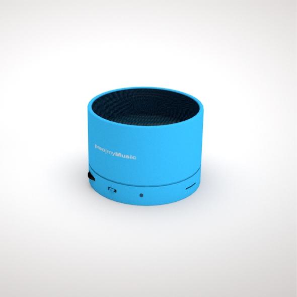 music box bluetooth by ikonas design 3docean. Black Bedroom Furniture Sets. Home Design Ideas