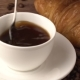 Lady Pouring Sugar while Preparing Hot Coffee Cup - VideoHive Item for Sale