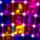 Flashing Color Music Notes - VideoHive Item for Sale