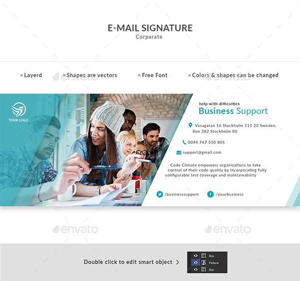E-Mail Signature - Miscellaneous Web Elements