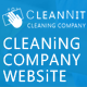 CleanNit - Cleaning Company Responsive Website