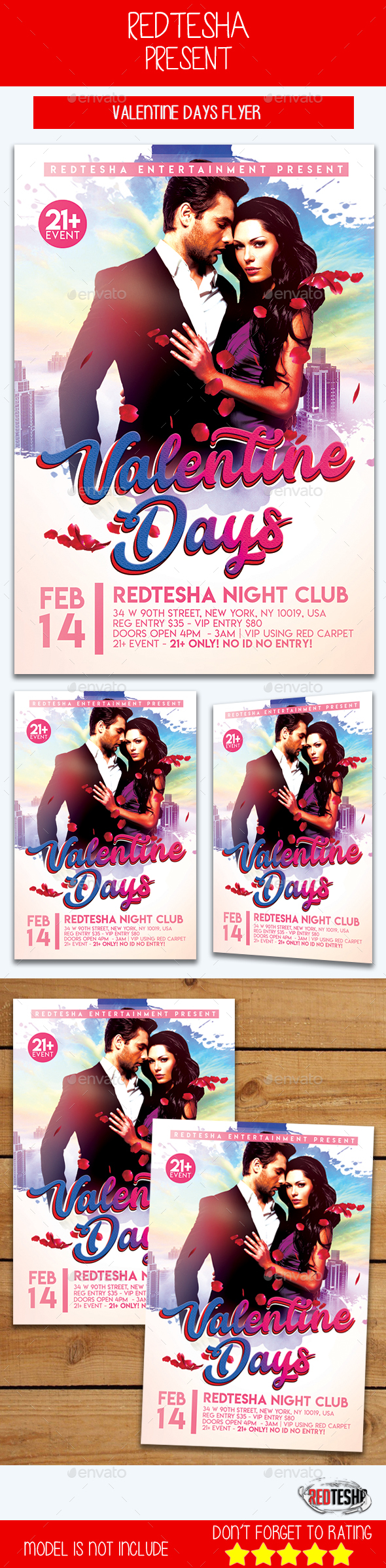 Valentine Days Flyer - Events Flyers