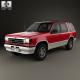 Ford Explorer 1990 - 3DOcean Item for Sale