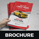 Luxury Car Sale Rental Brochure Design