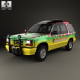Ford Explorer Jurrasic Park 1993 - 3DOcean Item for Sale