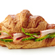 croissant sandwich with ham and cucumber - PhotoDune Item for Sale