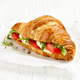 croissant sandwich with tomato and mozzarella - PhotoDune Item for Sale