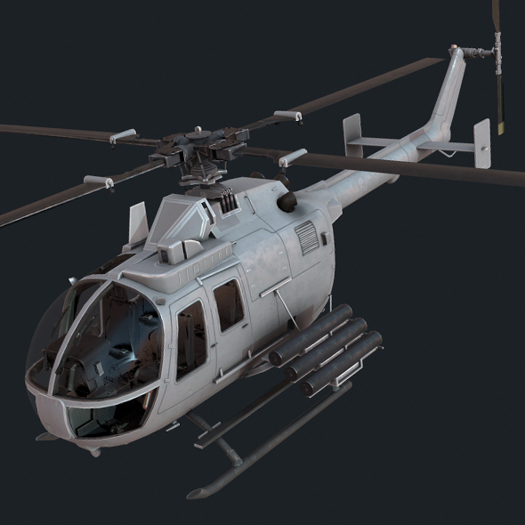 MBB Bo 105 - 3DOcean Item for Sale