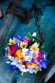 Wedding bouquet. Flowers in boat. - PhotoDune Item for Sale