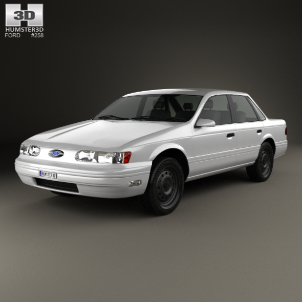 Ford Taurus 1992 - 3DOcean Item for Sale