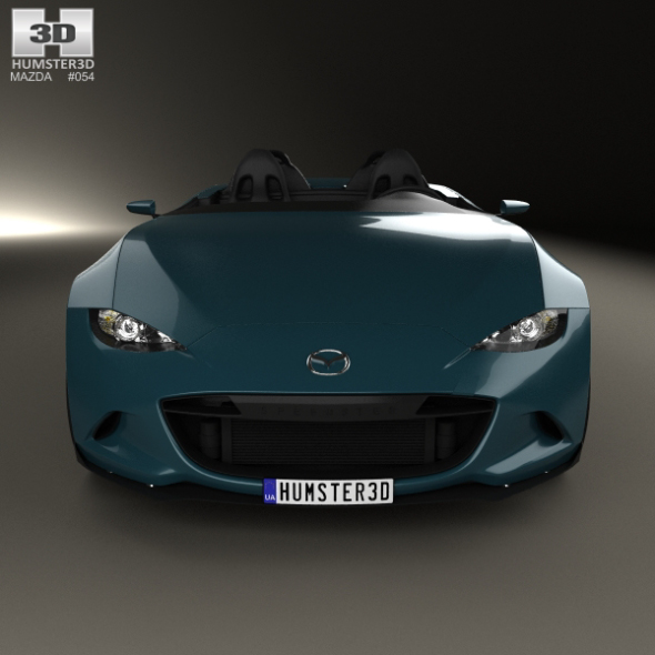Mazda MX-5 Spyder 2015 by humster3d   3DOcean