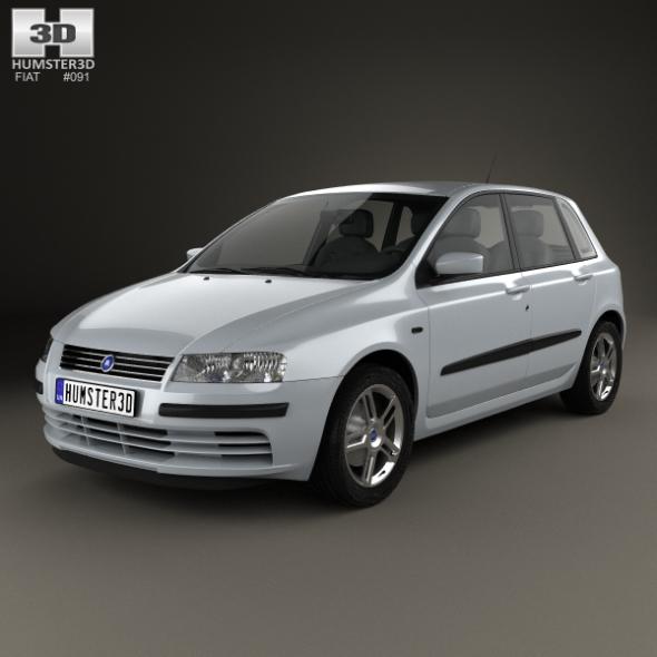 Fiat Stilo 5-door 2001