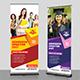 Education | Admission Roll Up Banner Template