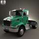 Peterbilt 335 HE Tractor Truck 2008 - 3DOcean Item for Sale