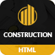 Construction – Construction Building Business HTML Template - ThemeForest Item for Sale