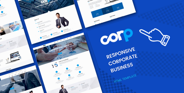 Image of Corp Responsive Corporate Business HTML5 Template