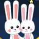 Bunny Love Cartoon Backgrounds - VideoHive Item for Sale