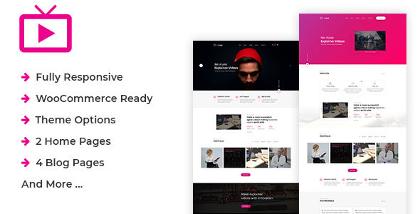 ThemeForest MaxVid Video Agency WordPress Theme 20931307