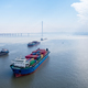 container ships on yangtze river , water transport concept - PhotoDune Item for Sale