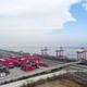 inland container terminal closeup - PhotoDune Item for Sale