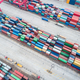 aerial view of container yard - PhotoDune Item for Sale