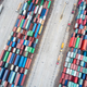 aerial view of container stack yards - PhotoDune Item for Sale