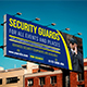 Security Guards Billboard Template