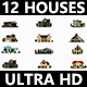 12 Houses - VideoHive Item for Sale