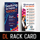 DL Recruitment Agency Rack Card Template - GraphicRiver Item for Sale