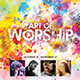 Art of Worship Church Event Flyer - GraphicRiver Item for Sale