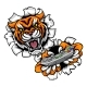 Tiger Esports Gamer Mascot - GraphicRiver Item for Sale