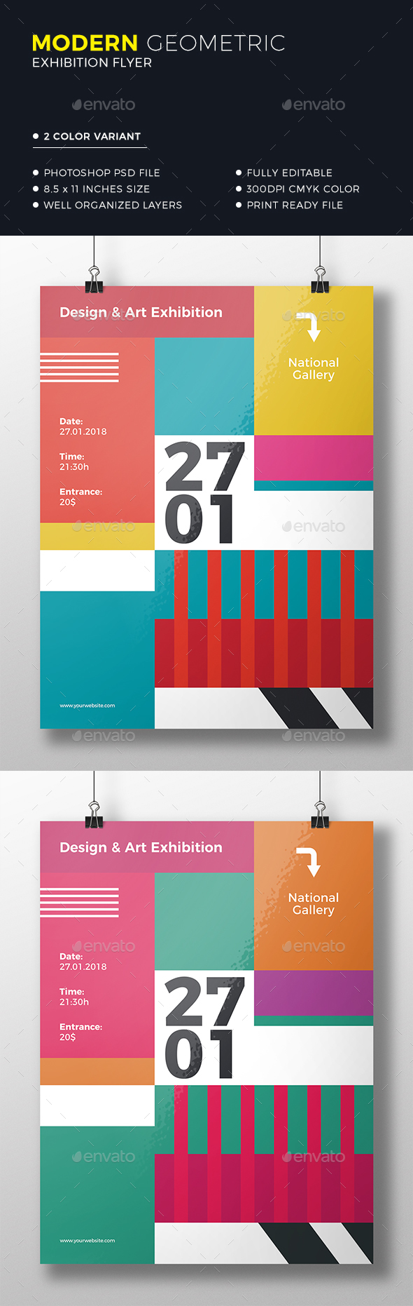 Geometric Colorful Flyer - Miscellaneous Events