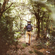 A man walking in the forest - PhotoDune Item for Sale
