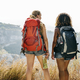 Young women traveling together - PhotoDune Item for Sale