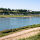 view of Loire river with Ile d'Or and Amboise - PhotoDune Item for Sale