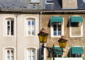 facades of urban houses in Boulogne-sur-Mer city - PhotoDune Item for Sale