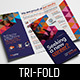 Recruitment Agency Tri-Fold Brochure Template - GraphicRiver Item for Sale