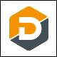 Data Hex - Letter D Logo - GraphicRiver Item for Sale