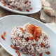 Risotto with red radicchio and crispy bacon (speck) - PhotoDune Item for Sale