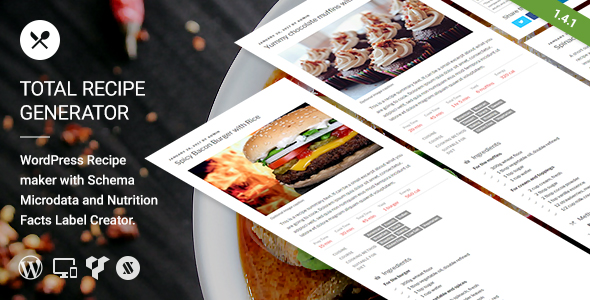 Total recipe generator wordpress recipe maker with schema and total recipe generator wordpress recipe maker with schema and nutrition facts codecanyon item for forumfinder Gallery