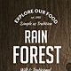 Rain Forest Menu Bundle - GraphicRiver Item for Sale