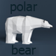 Polar Bear Low Poly - 3DOcean Item for Sale